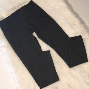 Fabletics Heather Dark Gray Leggings Size S